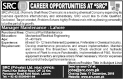 Jobs in SRC Pvt Limited