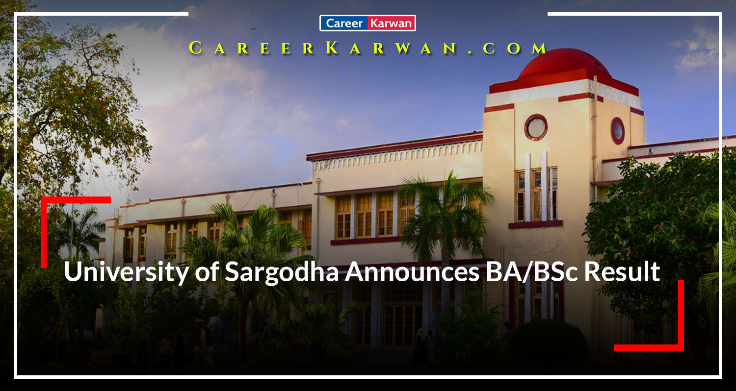 University of Sargodha Announces BA/BSc Result