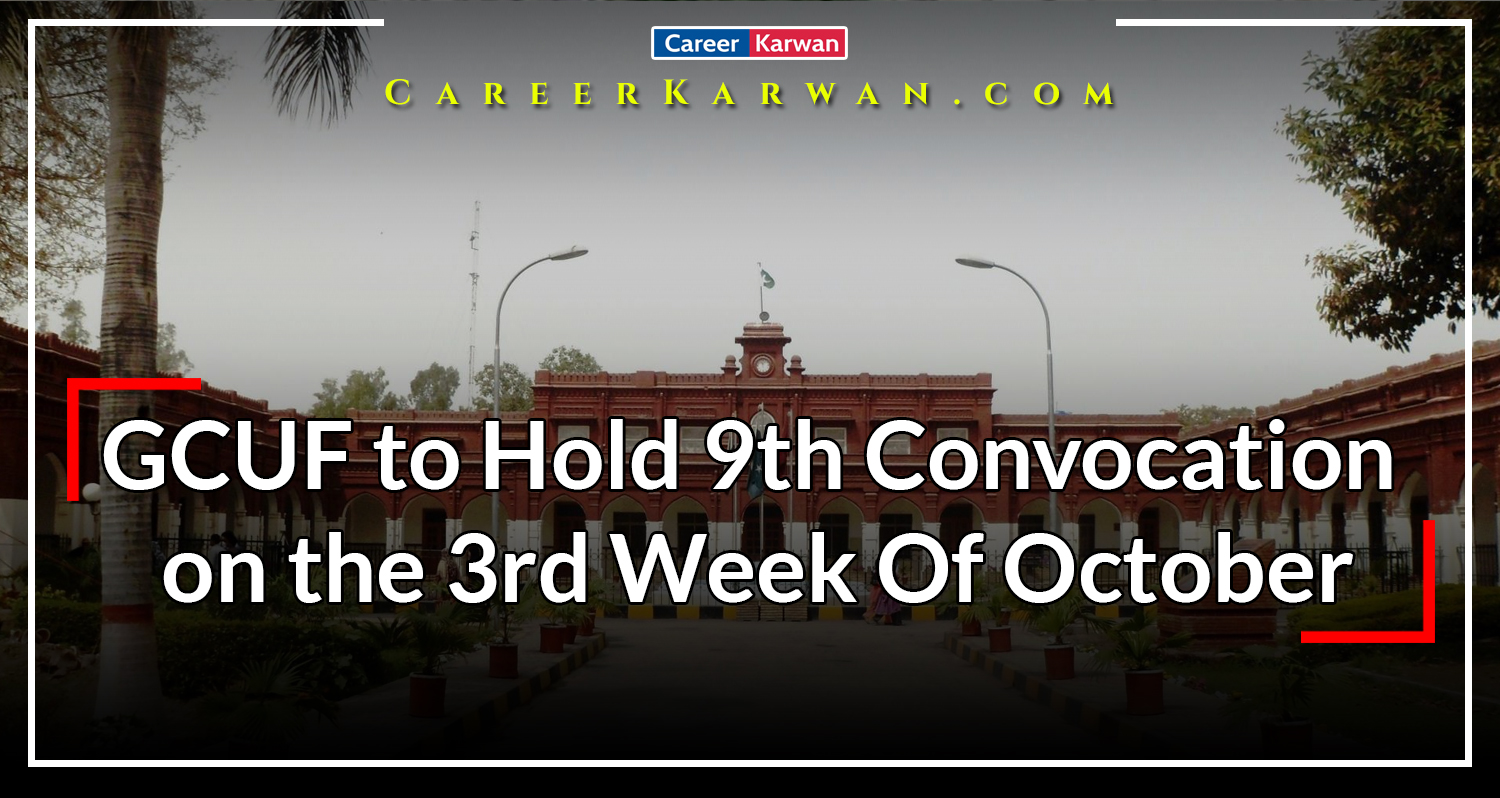 GCUF to Hold 9th Convocation on the 3rd Week Of October