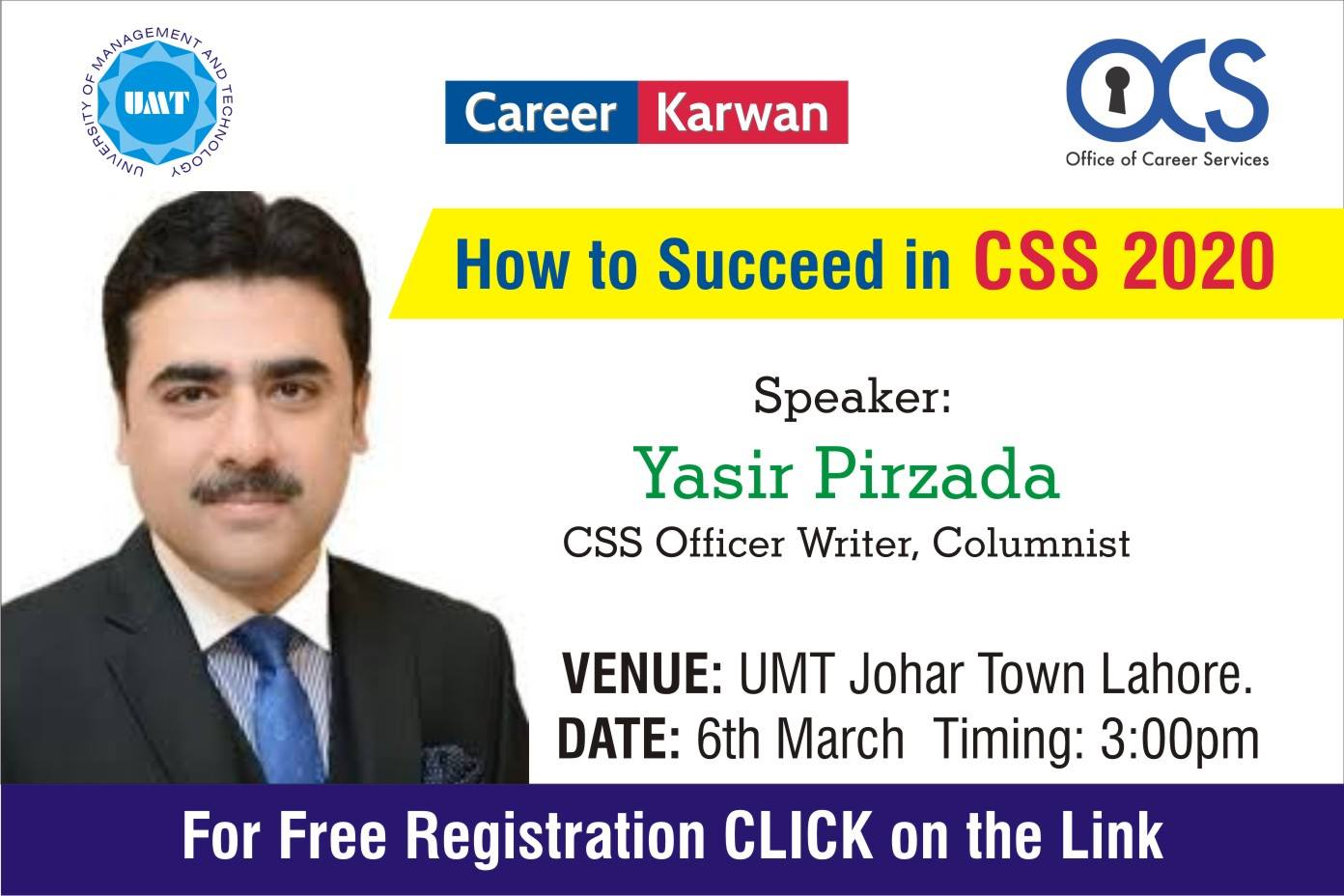 """Free Seminar on """"How to succeed in CSS 2020"""""""