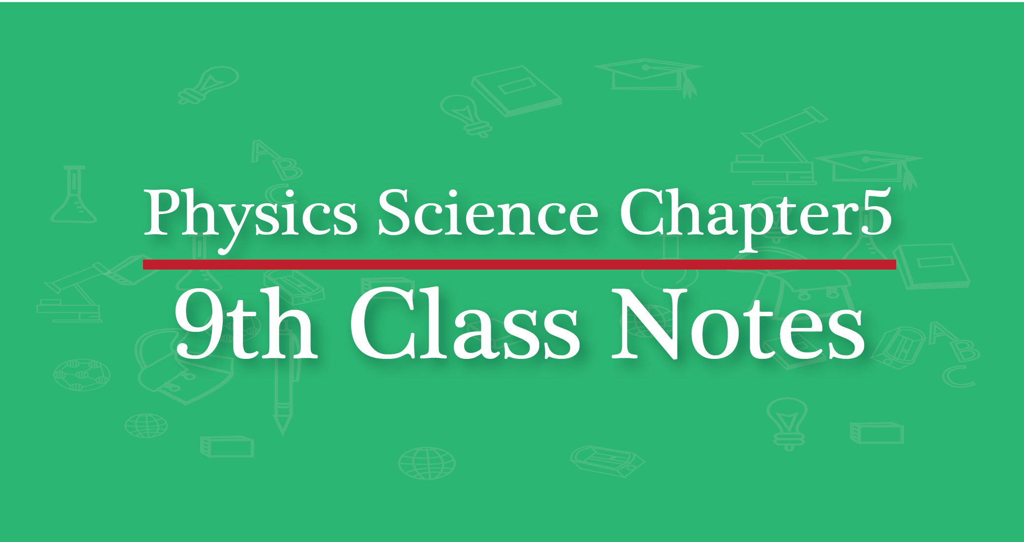 Mathematics 9th Class Notes of all boards - Matric Math notes