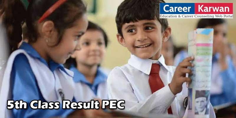 5th Class Result 2020 PEC